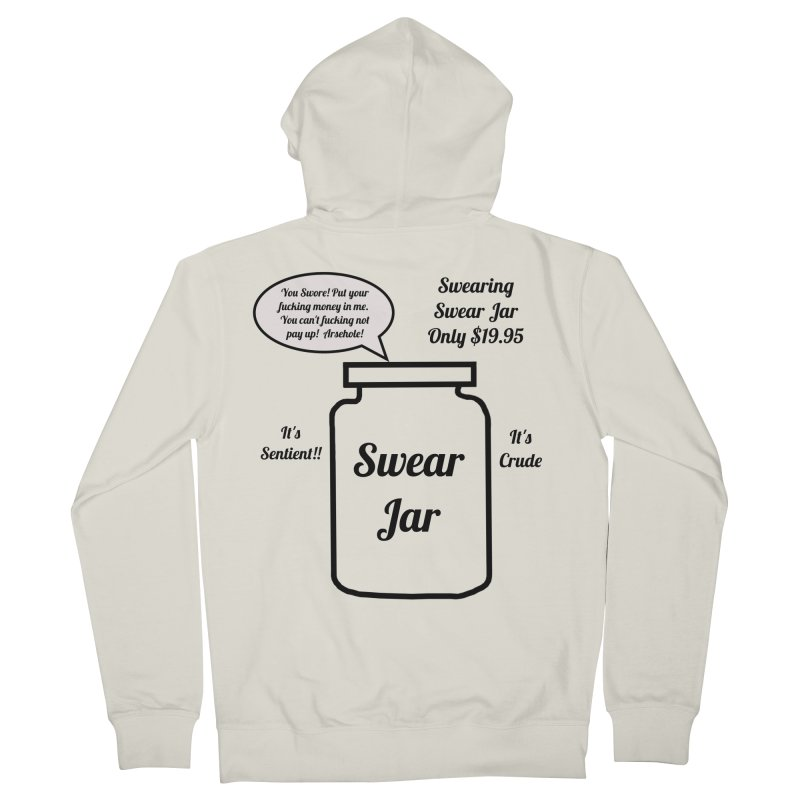 Swearing Swear Jar Ad Women's French Terry Zip-Up Hoody by Birchmark
