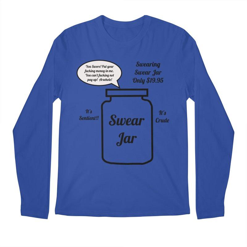 Swearing Swear Jar Ad Men's Longsleeve T-Shirt by Birchmark