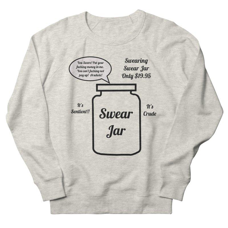 Swearing Swear Jar Ad Men's French Terry Sweatshirt by Birchmark