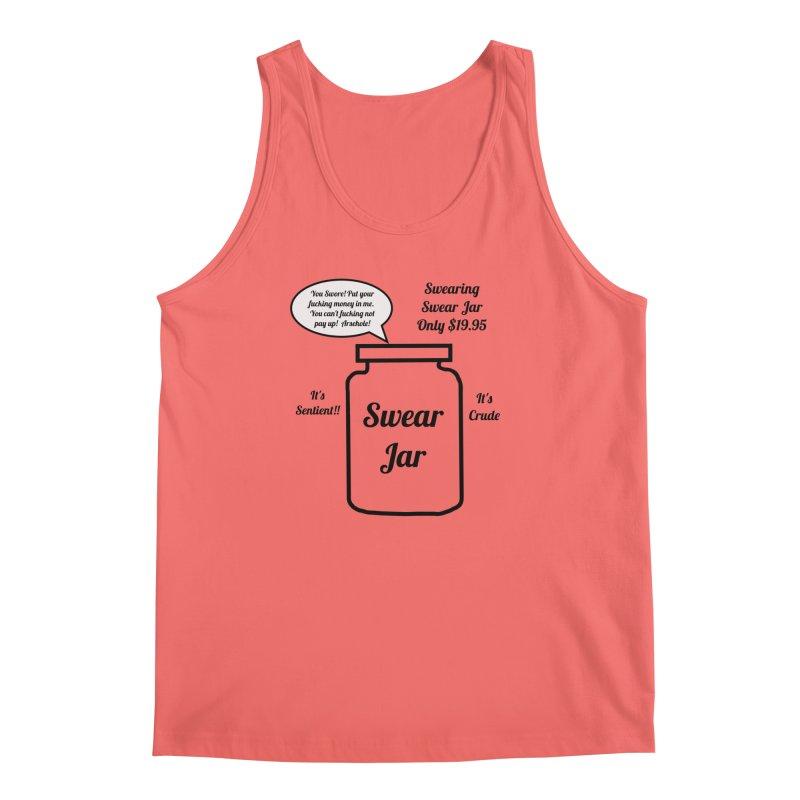 Swearing Swear Jar Ad Men's Tank by Birchmark