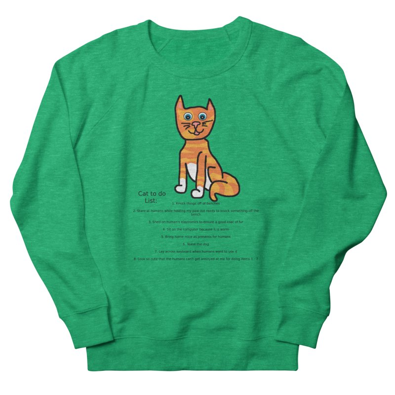 To Do Cat Women's Sweatshirt by Birchmark