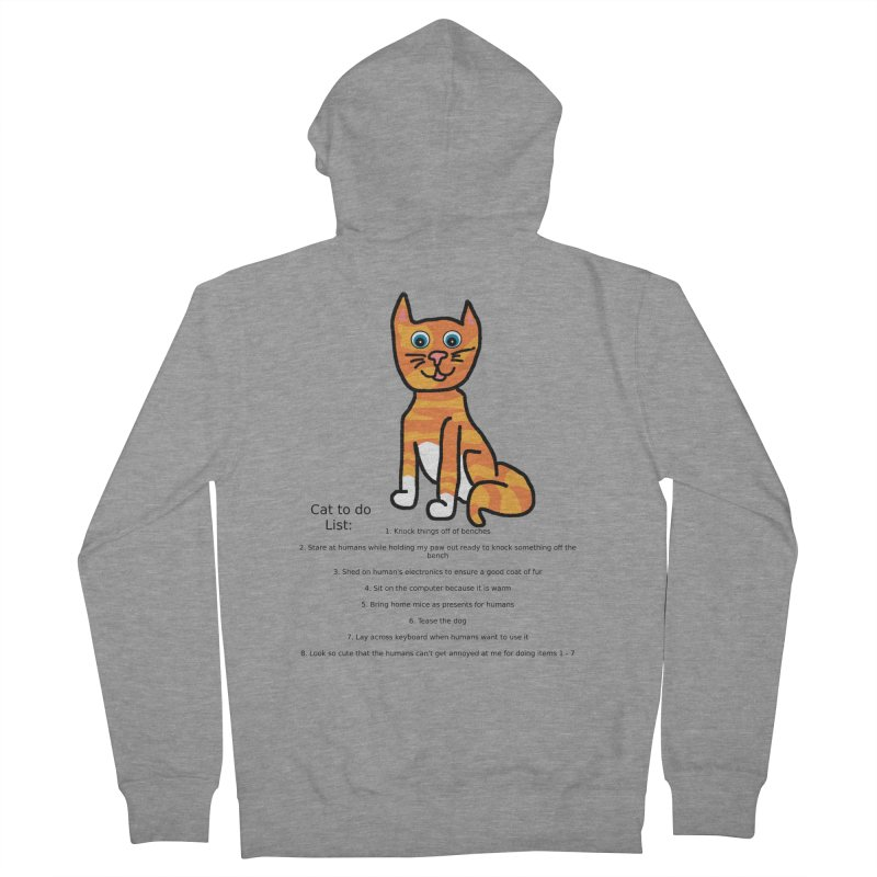 To Do Cat Women's Zip-Up Hoody by Birchmark