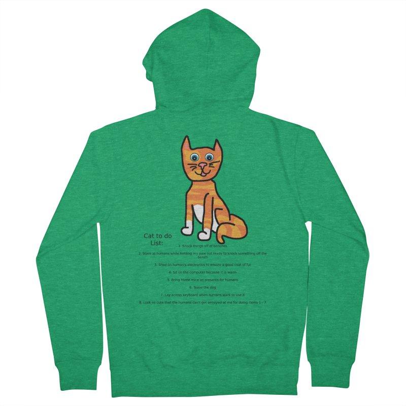 To Do Cat Men's Zip-Up Hoody by Birchmark