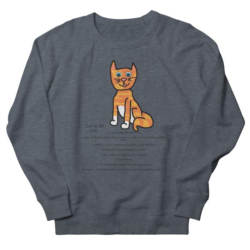 To Do Cat Men's Sweatshirt by Birchmark