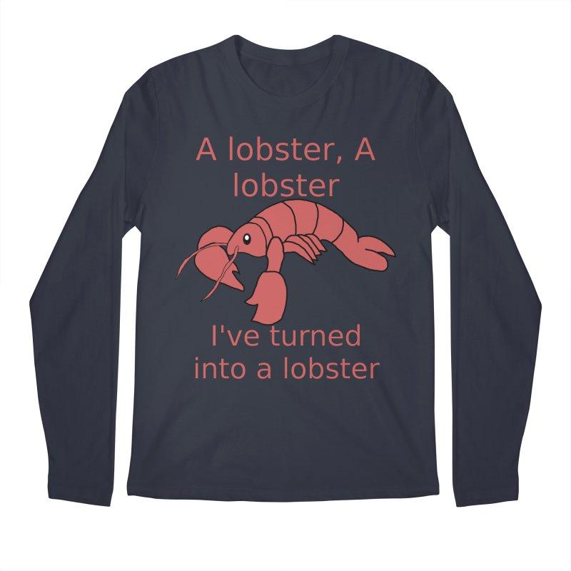 Lobster - Misheard Song Lyric #3 Men's Regular Longsleeve T-Shirt by Birchmark