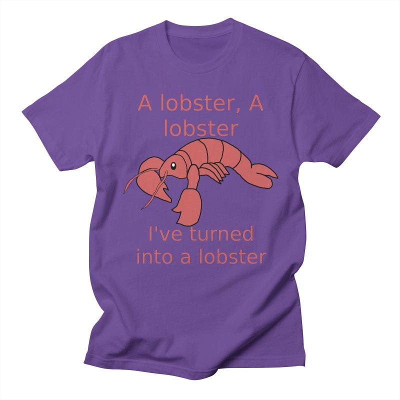 Lobster - Misheard Song Lyric #3 Men's Regular T-Shirt by Birchmark