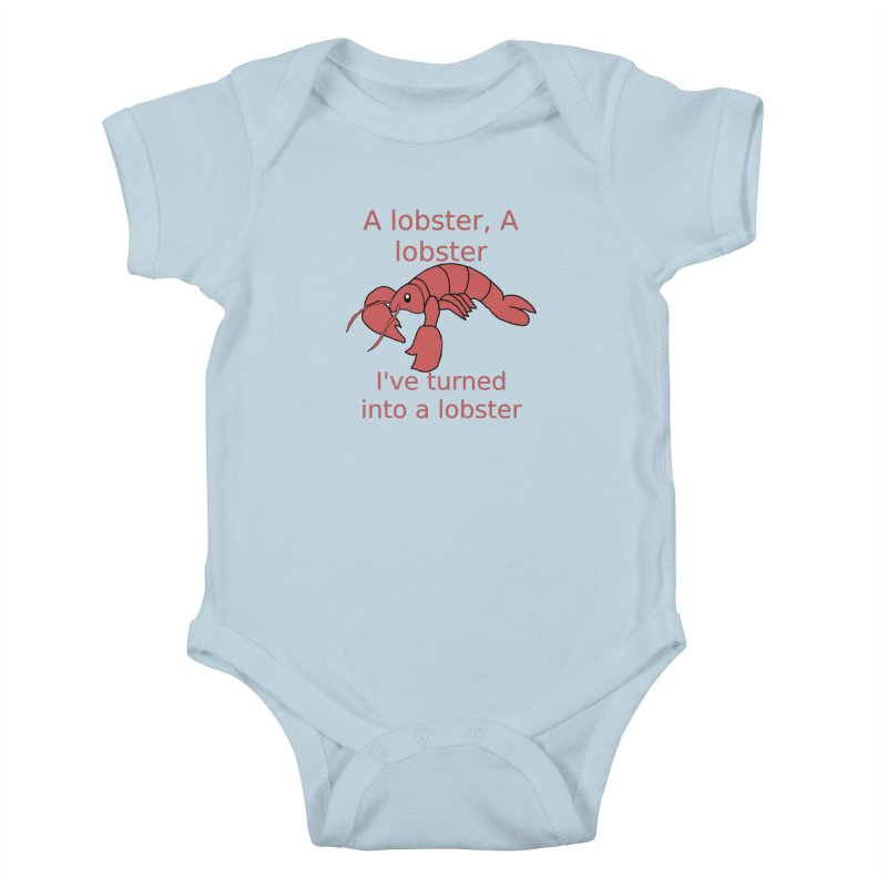 Lobster - Misheard Song Lyric #3 Kids Baby Bodysuit by Birchmark