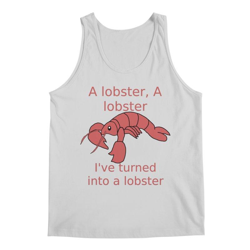 Lobster - Misheard Song Lyric #3 Men's Regular Tank by Birchmark