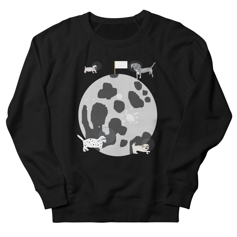 Moon Puppies Women's Sweatshirt by Birchmark