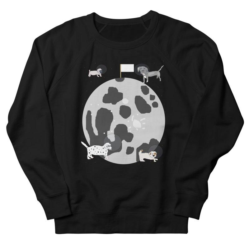 Moon Puppies Men's Sweatshirt by Birchmark