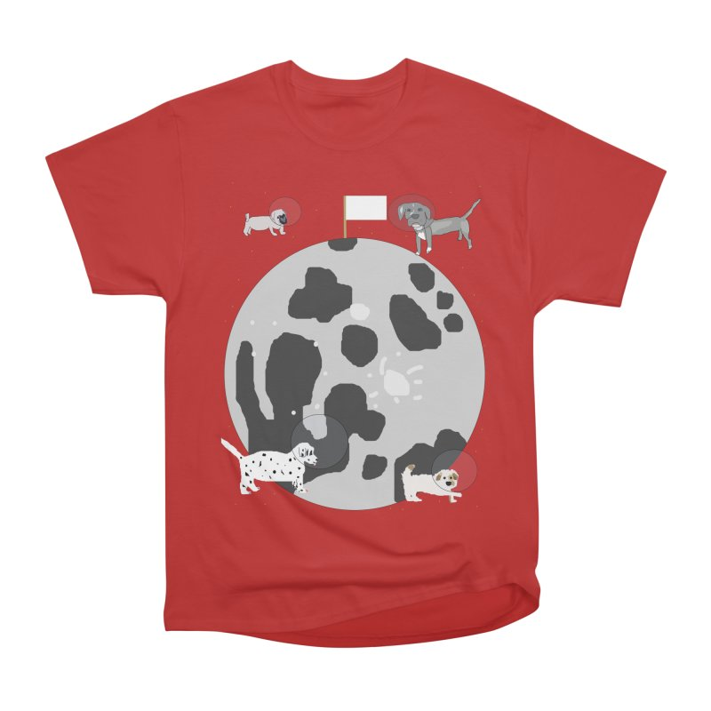 Moon Puppies Women's Heavyweight Unisex T-Shirt by Birchmark