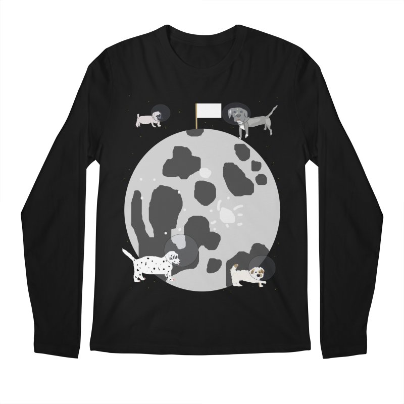 Moon Puppies Men's Longsleeve T-Shirt by Birchmark