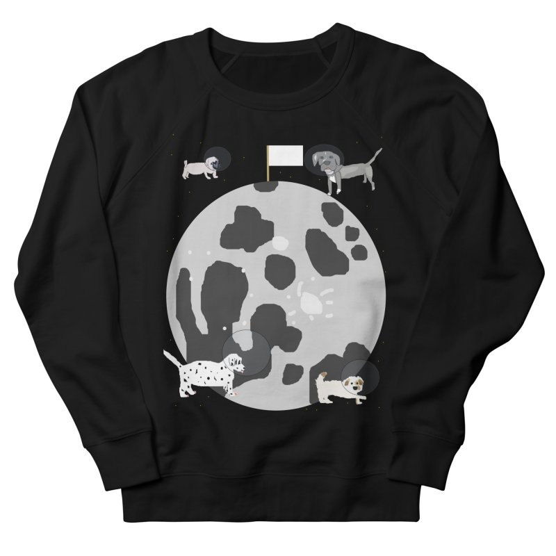 Moon Puppies Men's French Terry Sweatshirt by Birchmark