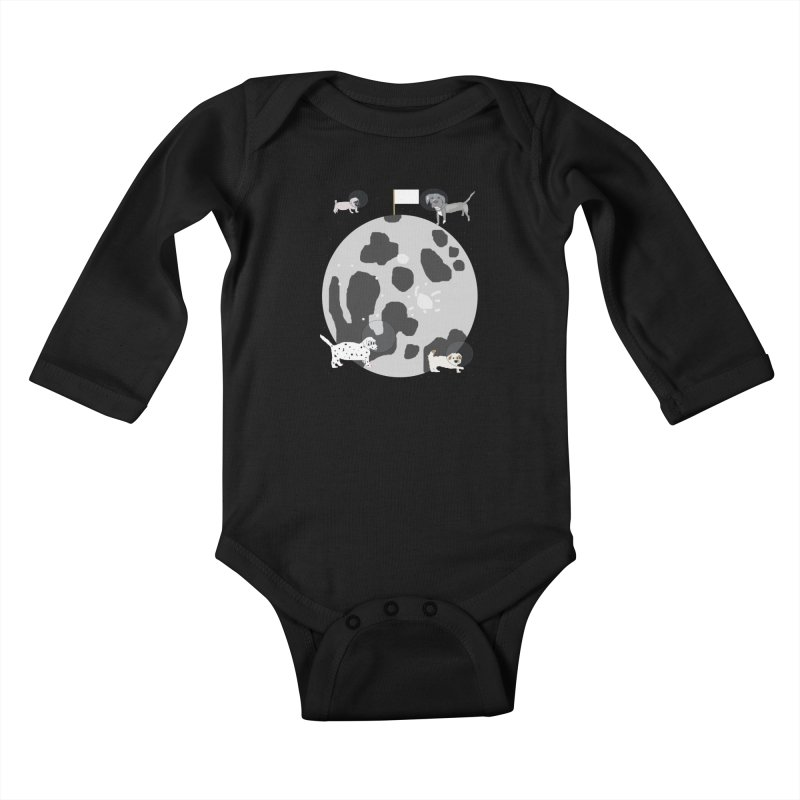 Moon Puppies Kids Baby Longsleeve Bodysuit by Birchmark