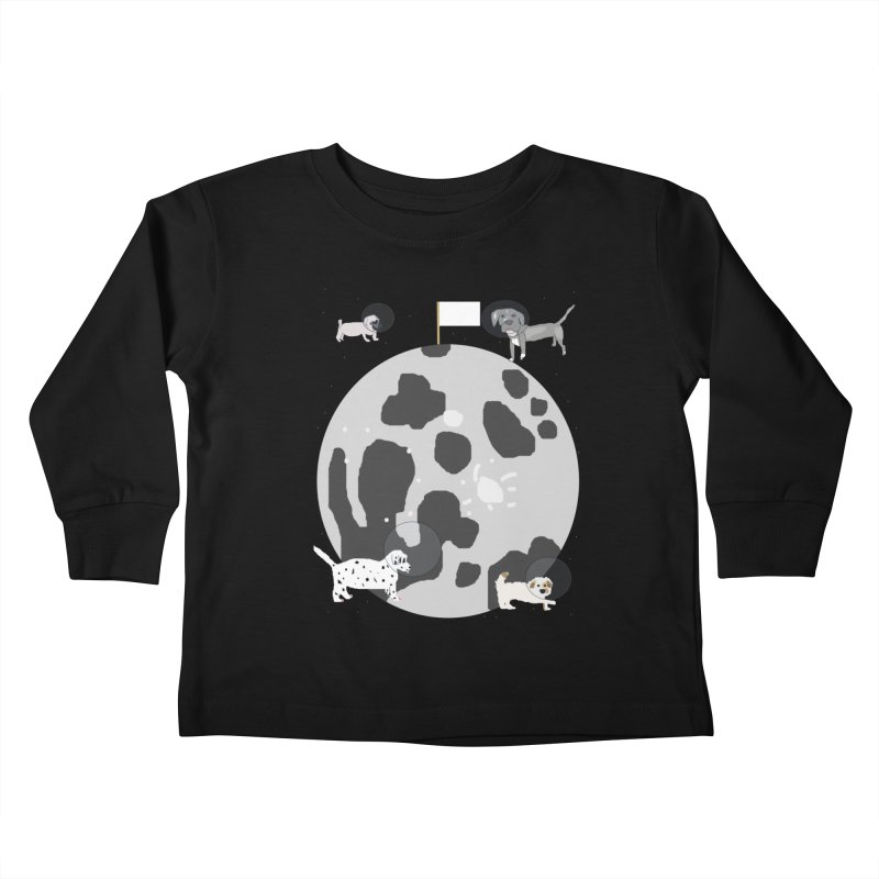 Moon Puppies Kids Toddler Longsleeve T-Shirt by Birchmark