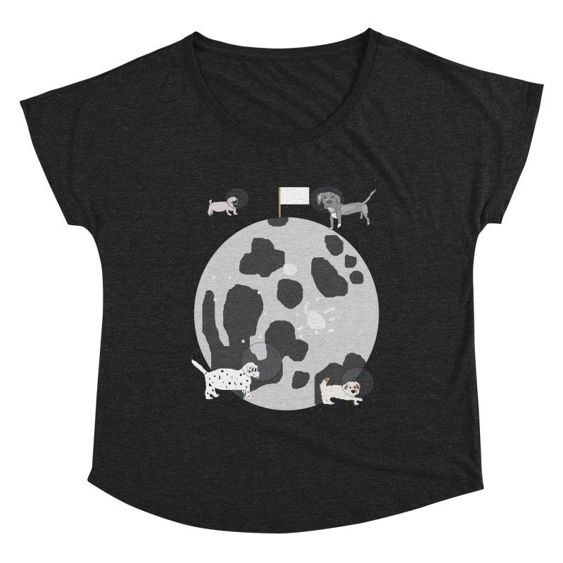 Moon Puppies Women's Scoop Neck by Birchmark