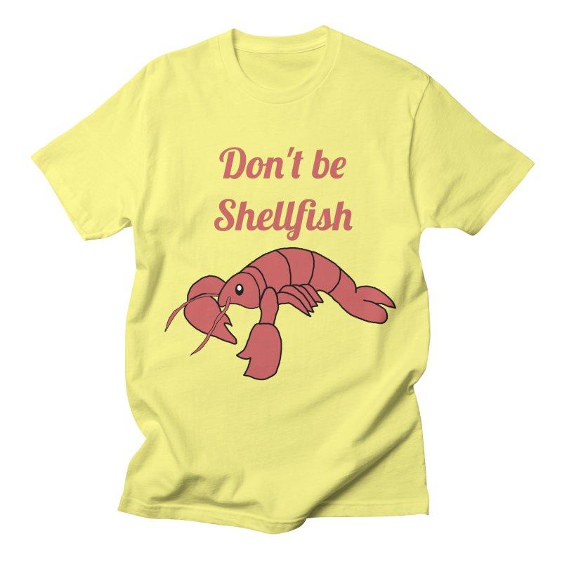 Shellfish Lobster Men's T-Shirt by Birchmark