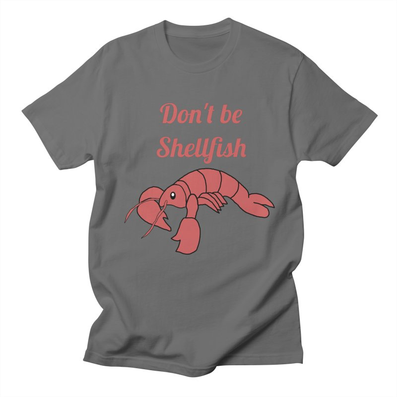 Shellfish Lobster Men's T-Shirt by Birchmark