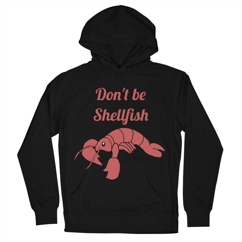 Shellfish Lobster Women's French Terry Pullover Hoody by Birchmark
