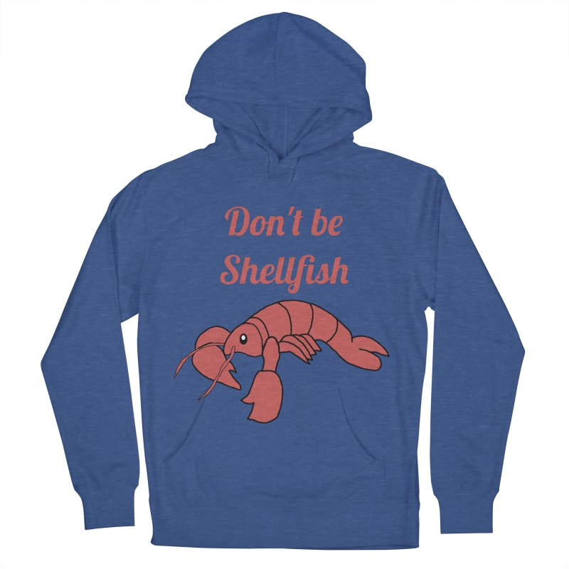 Shellfish Lobster Men's Pullover Hoody by Birchmark