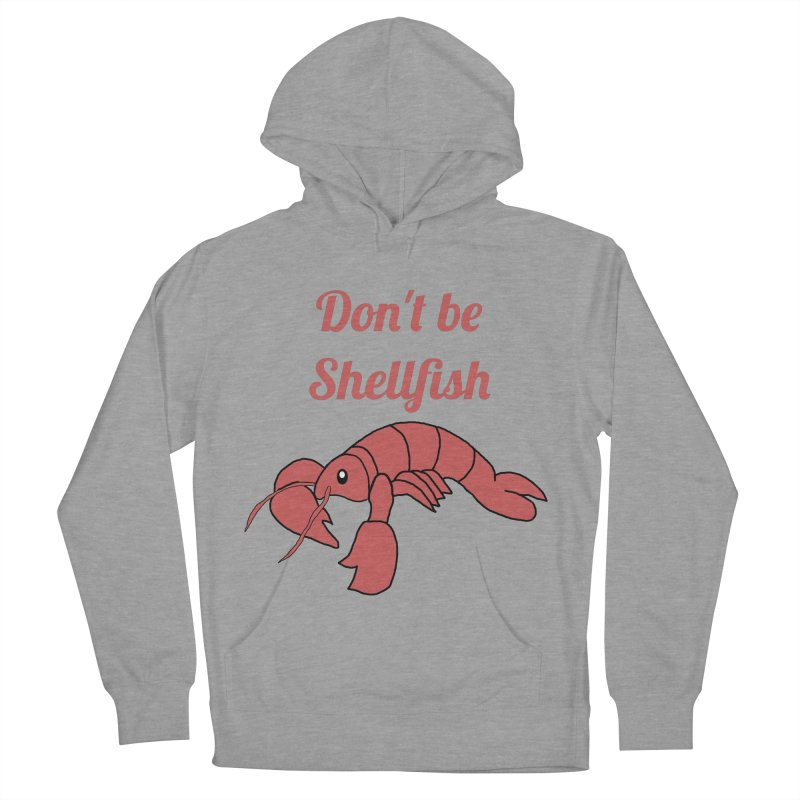 Shellfish Lobster Men's French Terry Pullover Hoody by Birchmark