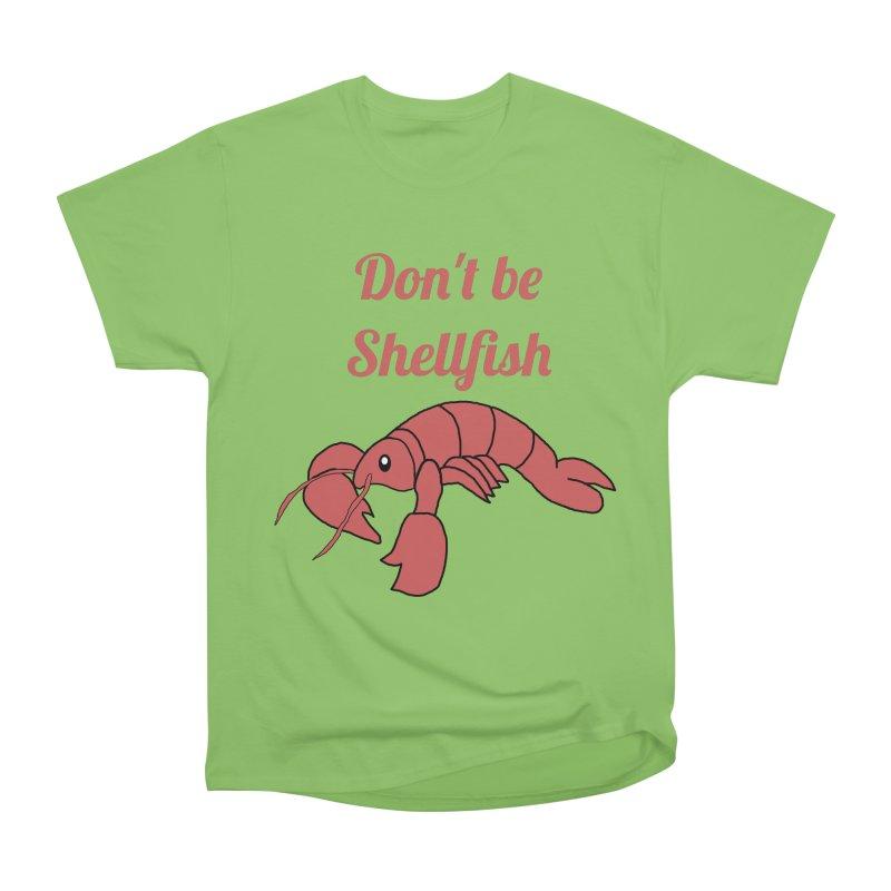 Shellfish Lobster Men's Heavyweight T-Shirt by Birchmark