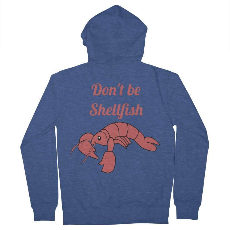 Shellfish Lobster Women's French Terry Zip-Up Hoody by Birchmark
