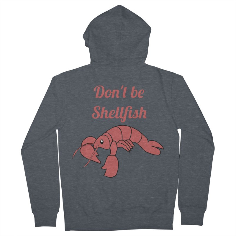 Shellfish Lobster Women's Zip-Up Hoody by Birchmark