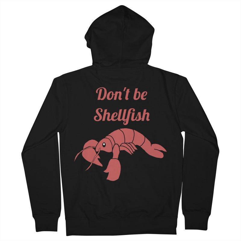 Shellfish Lobster Men's Zip-Up Hoody by Birchmark