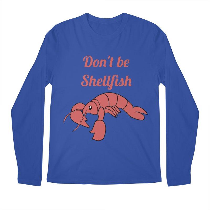 Shellfish Lobster Men's Longsleeve T-Shirt by Birchmark