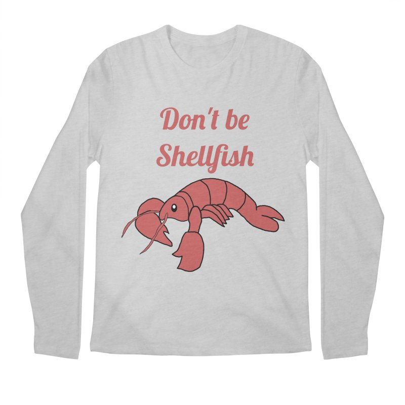Shellfish Lobster Men's Longsleeve T-Shirt by Birchmark