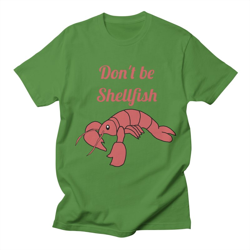 Shellfish Lobster Men's Regular T-Shirt by Birchmark