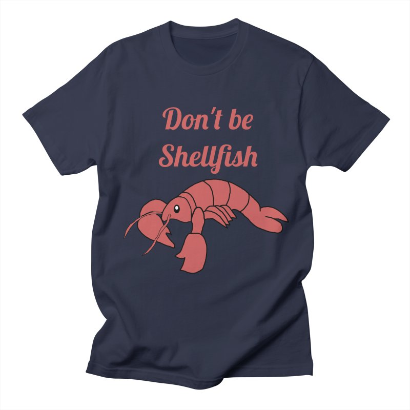 Shellfish Lobster Men's Regular T-Shirt by Birchmark