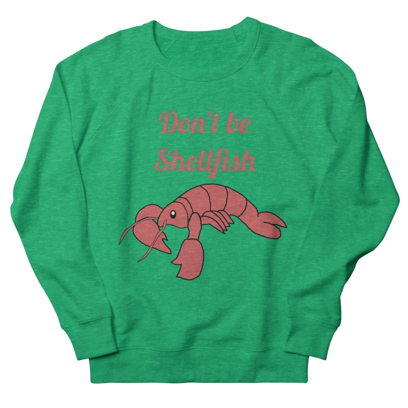 Shellfish Lobster Women's Sweatshirt by Birchmark