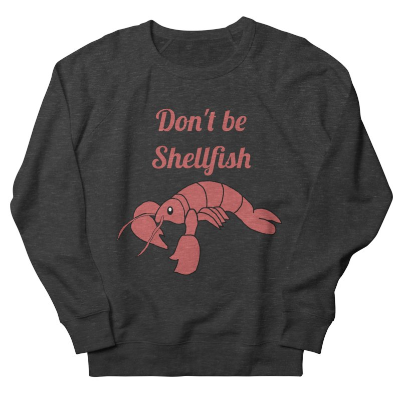 Shellfish Lobster Women's French Terry Sweatshirt by Birchmark