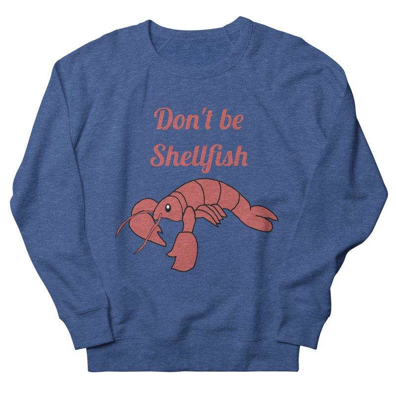 Shellfish Lobster Women's French Terry Sweatshirt by Birchmark