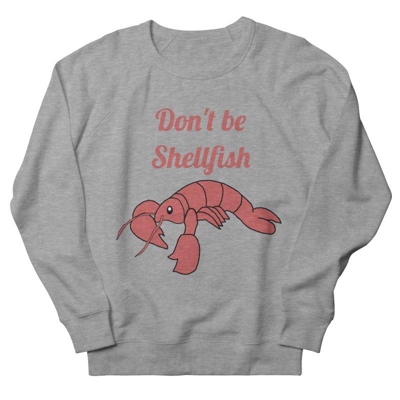 Shellfish Lobster Men's French Terry Sweatshirt by Birchmark