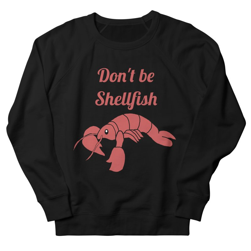 Shellfish Lobster Men's French Terry Sweatshirt by Birchmark