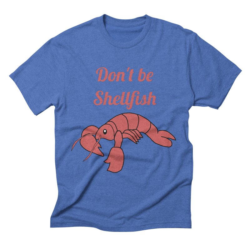 Shellfish Lobster Men's Triblend T-Shirt by Birchmark