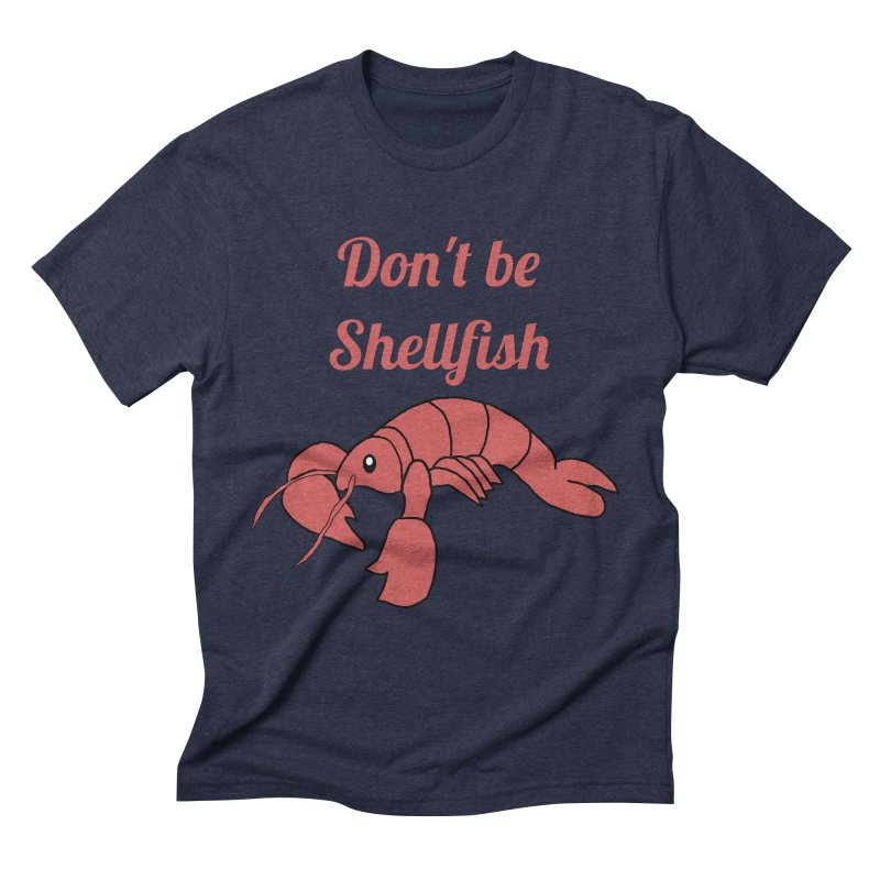 Shellfish Lobster Men's Triblend T-Shirt by Birchmark