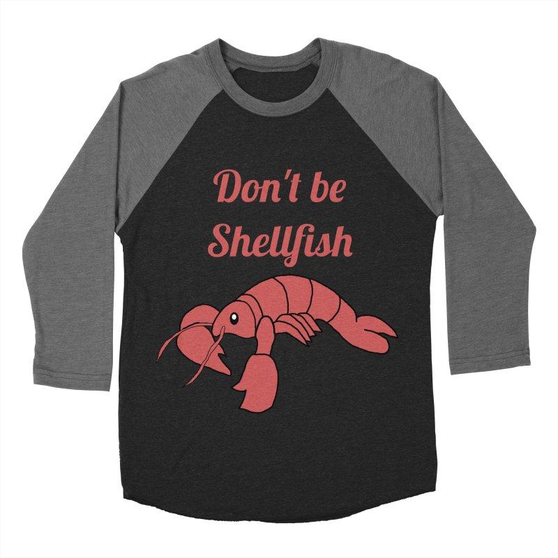 Shellfish Lobster Men's Baseball Triblend Longsleeve T-Shirt by Birchmark