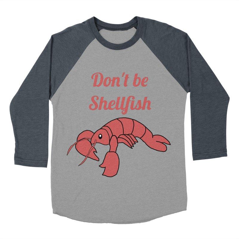 Shellfish Lobster Men's Baseball Triblend T-Shirt by Birchmark