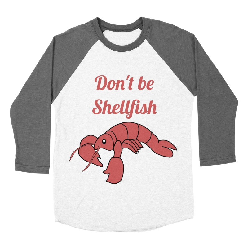Shellfish Lobster Men's Baseball Triblend T-Shirt by Birchmark
