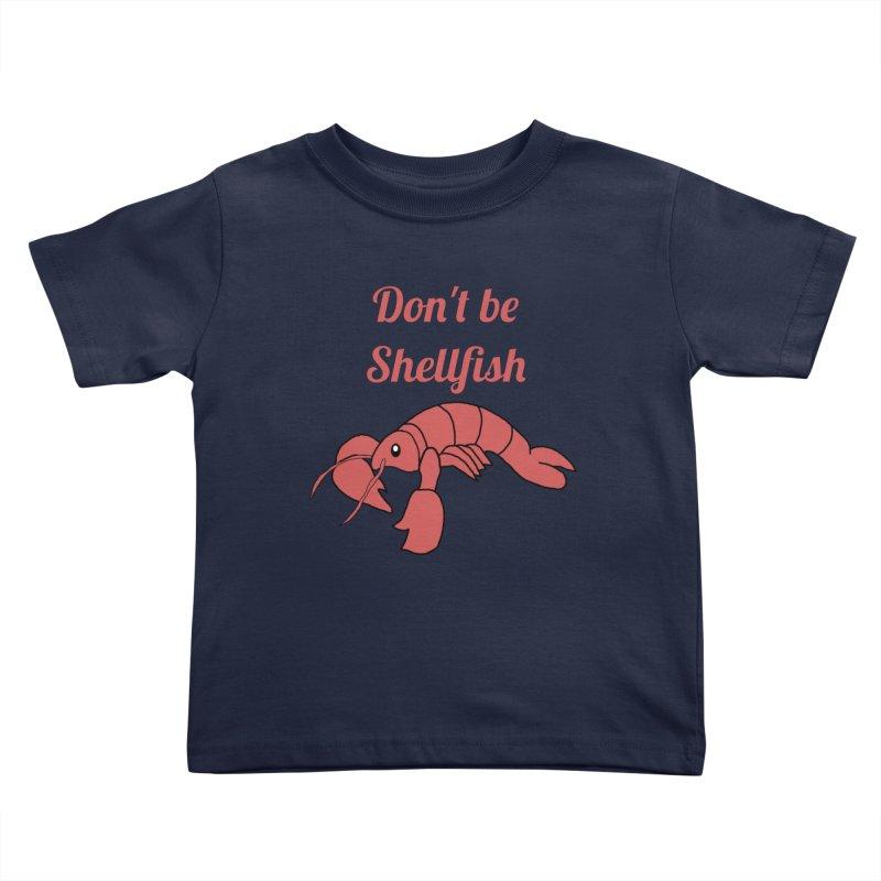 Shellfish Lobster Kids Toddler T-Shirt by Birchmark