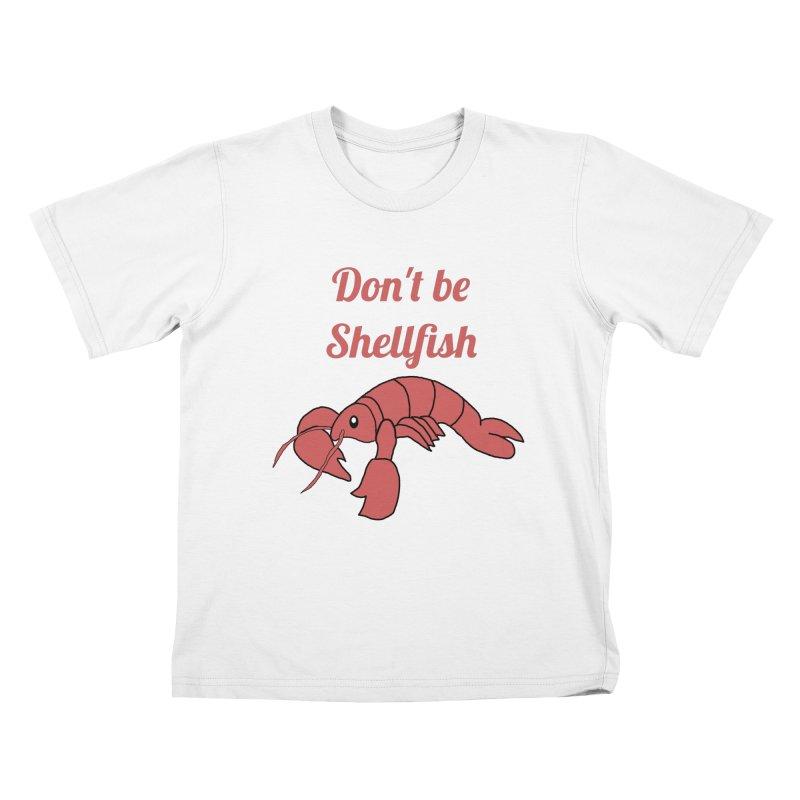 Shellfish Lobster Kids T-Shirt by Birchmark