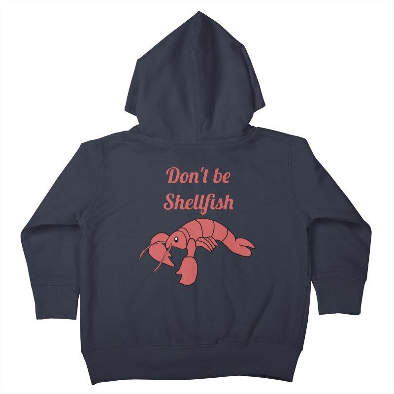 Shellfish Lobster Kids Toddler Zip-Up Hoody by Birchmark