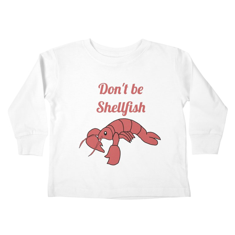 Shellfish Lobster Kids Toddler Longsleeve T-Shirt by Birchmark