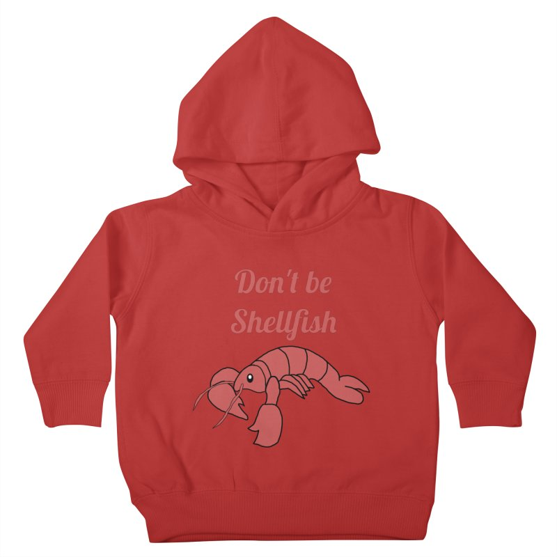 Shellfish Lobster Kids Toddler Pullover Hoody by Birchmark