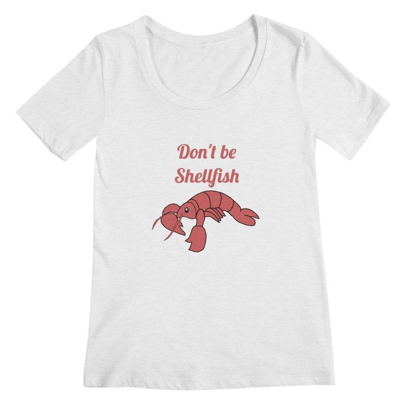 Shellfish Lobster Women's Scoop Neck by Birchmark
