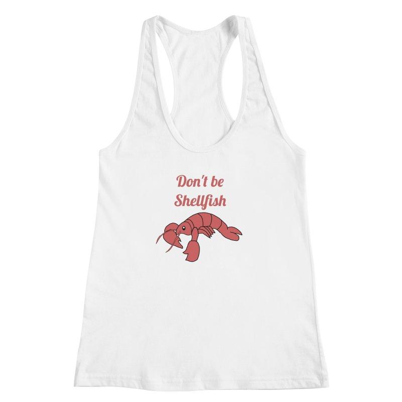 Shellfish Lobster Women's Racerback Tank by Birchmark